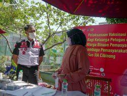 Sudjonggo Menghimbau Agar Disiplin Prokes dan Tuntas Vaksin Untuk Lewati Pandemi Saat Tinjau Vaksinasi di Lapas Cibinong