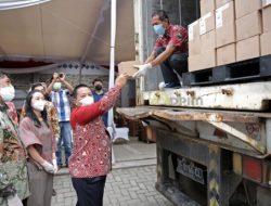 Gubernur Lepas Ekspor Perdana Produk Cokelat Krakakoa ke Singapura, Lampung Buktikan Diri Bisa Bangkit dari Deraan Pandemi
