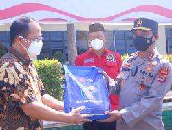Sebanyak 100 Ton Beras dari PT. Sinar Jaya Agro Investama Disalurkan Melalui Polda Lampung Untuk Masyarakat