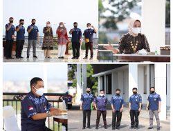 Ketua PMI Lampung Ajak Komunitas Suzuki Katana Jimny Indonesia (SKIn) Pengda Lampung Bersinergi Dalam Kegiatan Kemanusiaan