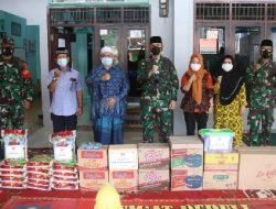 Komandan Kodim 0410/KBL Beri Bantuan ke Panti Asuhan Harapan Bangsa