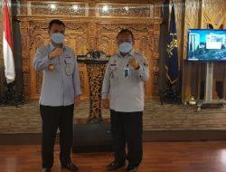 Laksanakan Serah Terima Jabatan, Pelaksana Tugas Kantor Wilayah Kemenkumham Lampung Resmi Berganti