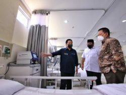 Pemerintah Hadir Melayani Rakyat, Gubernur bersama Menteri BUMN dan Menag Tinjau Asrama Haji Lampung Sebagai Rumah Sakit Darurat Covid-19