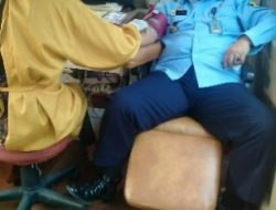 Lapas Klas IIA Kotabumi Gelar Penguatan SDM dan Donor Darah Dalam Rangka Sambut Hari Bhakti Kemenkumham RI