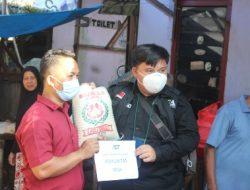 Aksi Operasi Makan Gratis (OMG) Relawan ACT-MRI Lampung Selatan Pasca Kebakaran Pasar Bakauheni