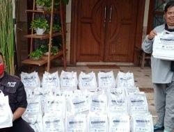 ACT Bandarlampung, MT Babussalam Al-Ikhlas dan Universitas Bandarlampung Bagikan Paket Nutrisi Untuk Pasien Isoman