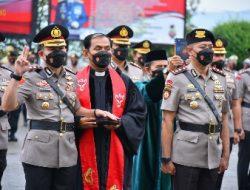 Kapolda Lampung Beri Penekanan Kepada Para Pejabat Baru Yang Sertijab
