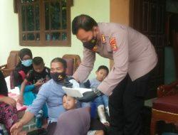 Terdampak PPKM, Polda Lampung Berikan Bansos ke Panti Asuhan Anak Penyandang Disabilitas