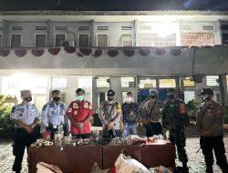 Lapas Kelas I Bandarlampung Menggelar Razia Rutin Bersama TNI dan Polri