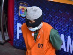 Tim Gabungan Polda Lampung Tangkap Pelaku Pembunuhan Wanita di Kamar Kost