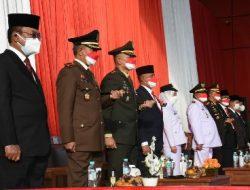 Komandan Kodim 0410/KBL Ikuti Upacara Peringatan HUT RI Ke-76