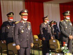 Kapolda Lampung Hadiri Upacara Peringatan Hari Kemerdekaan RI ke-76