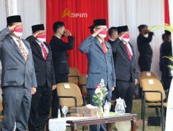 Sekdaprov Fahrizal Darminto Ikuti Upacara Penurunan Bendera dalam Rangka HUT RI ke-76