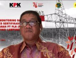 Targetkan Sertifikasi 1.310 Aset Tanah di Lampung, PLN Perkuat Kolaborasi dengan KPK dan BPN