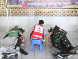 Peringati HUT Korem 043/Gatam Ke-74, Komandan Kodim 0410/KBL Melaksanakan Kegiatan Donor Darah