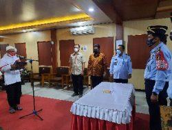 4 Napi Teroris Berikrar Setia Kepada NKRI, Kemenkumham Lampung: Berkomitmen Terus Kita Bina