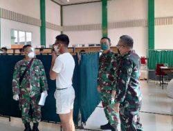 Danrem 043/Gatam Brigjen TNI Drajad Brima Yoga, S.I.P., M.H, Cek Pelaksanaan Werving Calon Secaba PK TNI AD 2021