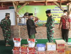 Peringati HUT Korem 043/Gatam ke-74, Komandan Kodim 0410/KBL Kegiatan Bakti Sosial di Panti Asuhan