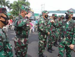 Kolonel Inf Romas Herlandes Menyambut Personel Kodim 0410/KBL Yang Lulus  Pendidikan Pembentukan Bintara Khusus
