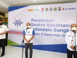 XL Axiata Gelar Sentra Vaksinasi dan Pengenalan Jaringan 5G Serentak di Medan