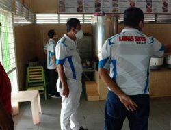Kalapas Melakukan Pengecekan Pelayanan Makanan di Dapur Lapas Kelas I Bandarlampung