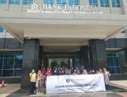 Puluhan Jurnalis Lampung Ikuti Pelatihan Tentang QRIS Menjadi Solusi Pembayaran Digital Bagi UMKM