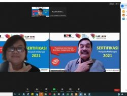 LSP KPK Rekomendasi A.Chrisna Putra Kompeten Sebagai Penyuluh Anti Korupsi