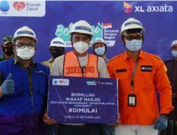 Karyawan XL Axiata Gelar Aksi Sosial Ada Bedah Rumah, Hingga Bangun Jembatan dan Fasilitas Air Bersih