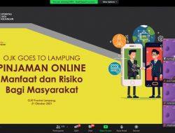 OJK Lampung Edukasi Masyarakat Mengenai Pinjol