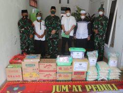 Komandan Kodim 0410/KBL Mengunjungi Panti Asuhan Yatim Piatu Kita Peduli