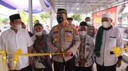 Kapolresta Bandar Lampung Resmikan Mushola Polsek Tanjung Senang